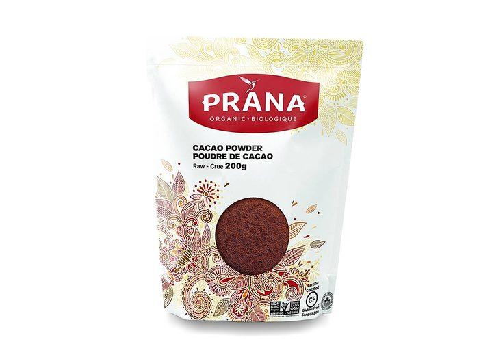 cacao powder prana