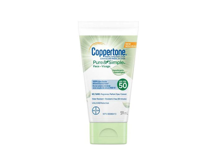Coppertone sunscreen