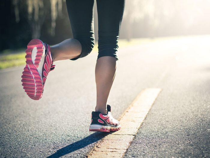 pace running