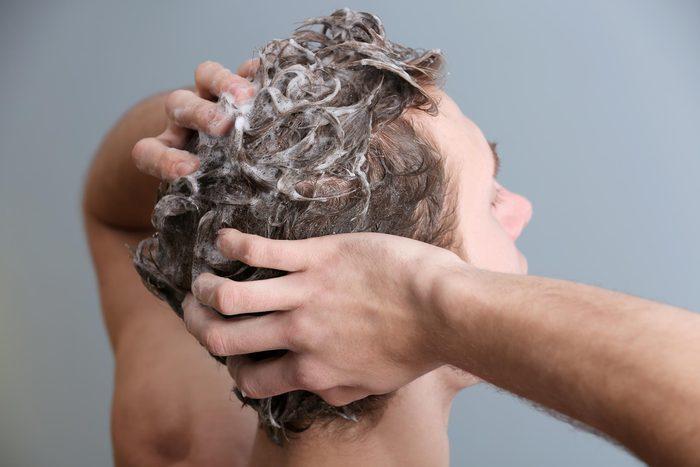 shampoo wash hair