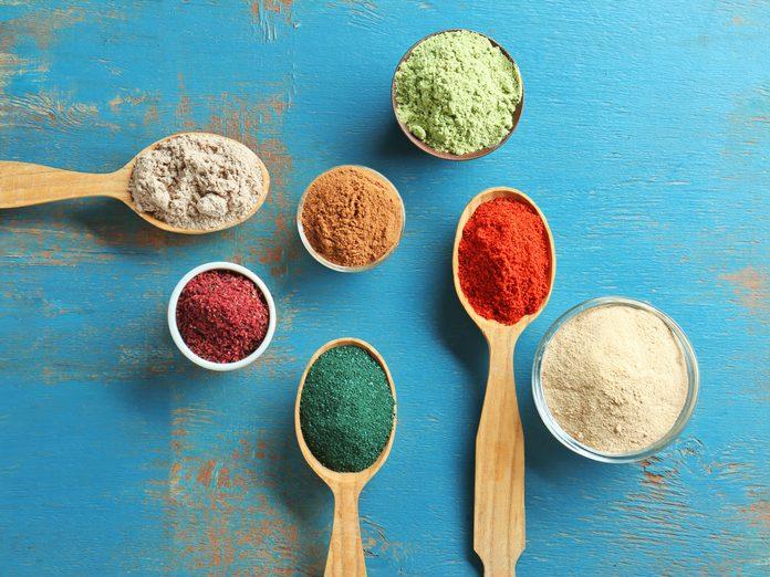 superfood powders super foods maca matcha collagen
