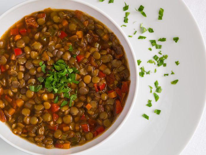 vegan protein sources lentils