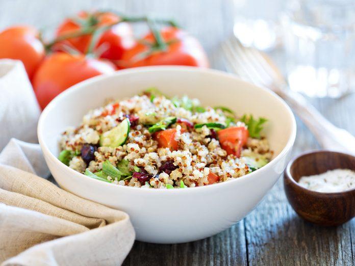 vegan protein sources quinoa