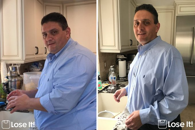 Hovig Ayvazian before and after