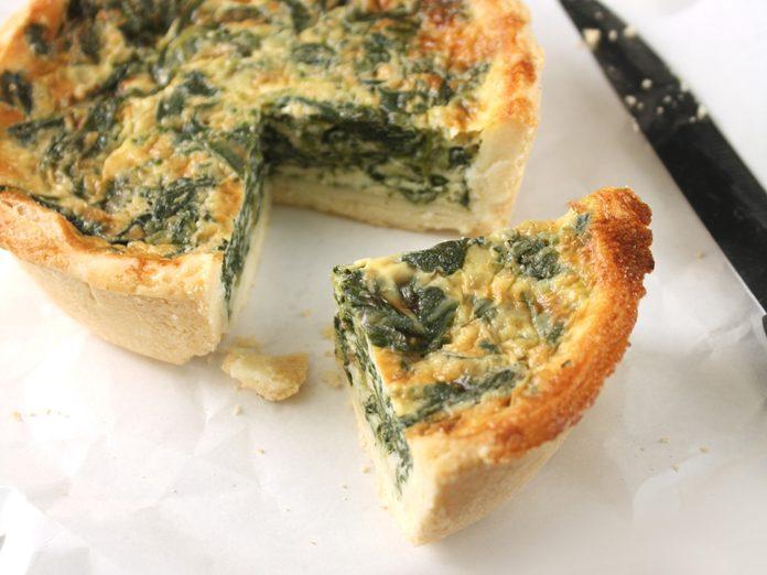 worst fast food spinach quiche