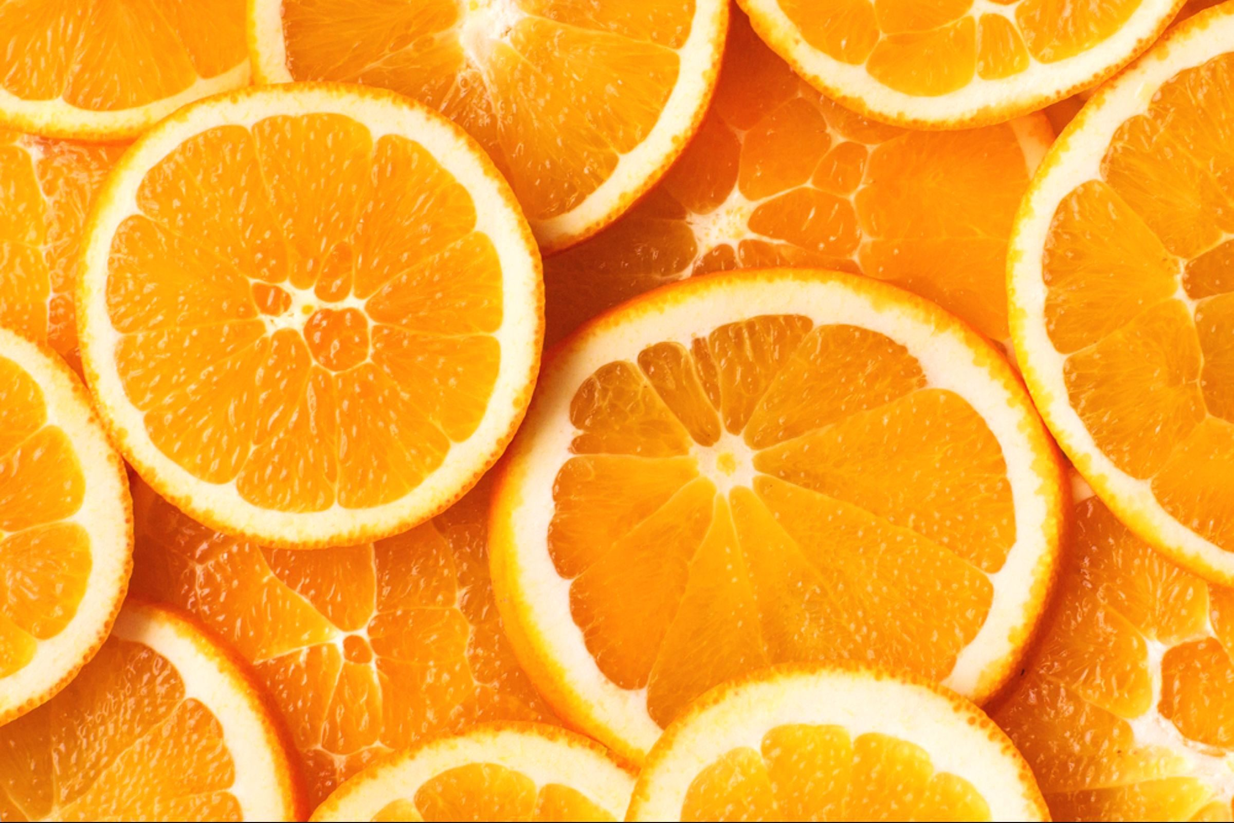 colourful foods | orange
