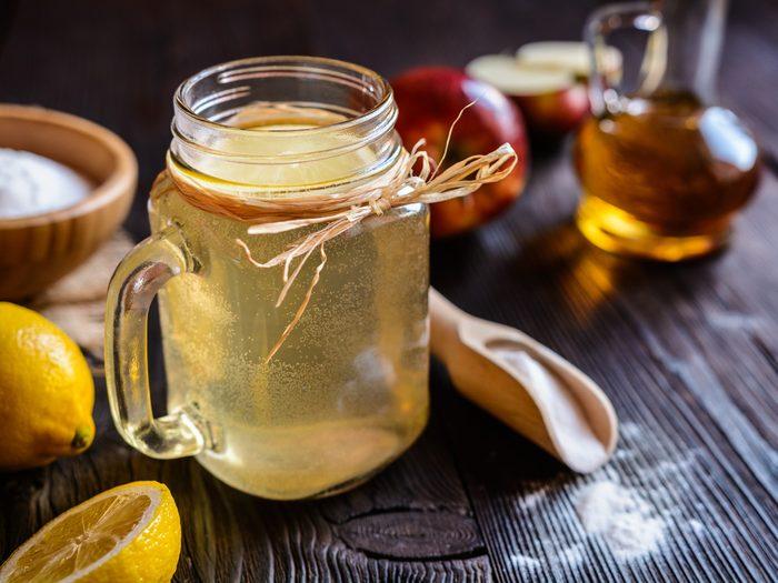 apple cider vinegar bottle