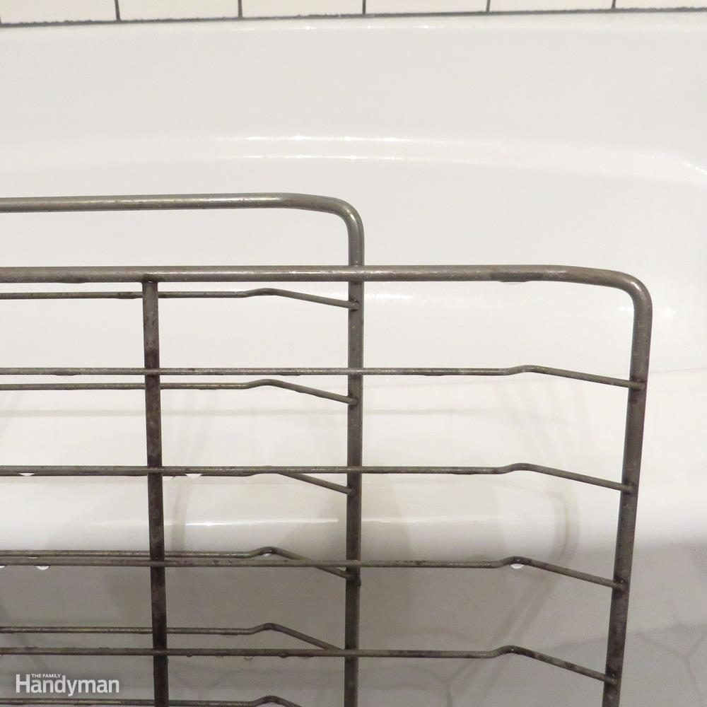 Rinse and Dry Your Oven Racks