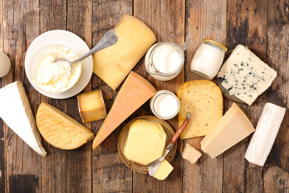 foods and drinks that cause migraines | assorted dairy product