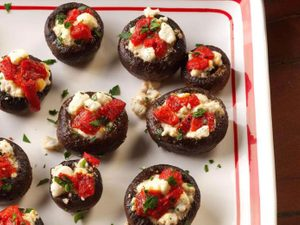 Stuffed Mushrooms Are the Superstar App Your Dinner Party Needs