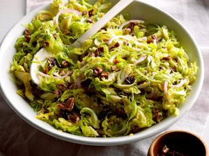 Make This Lightly-Dressed Brussels Sprout Salad for Lunch