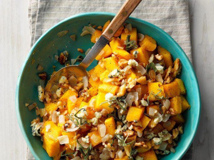 healthy thanksgiving recipes | pumpkin salad