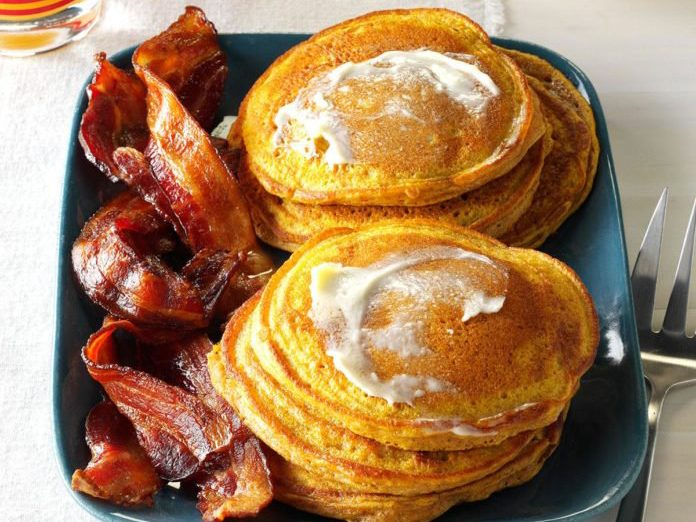 pumpkin pancake recipe