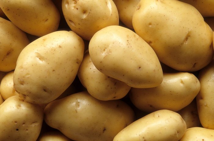 colourful foods   potatoes