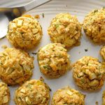Swap Traditional Stuffing for Vegetarian Apple Stuffing Balls