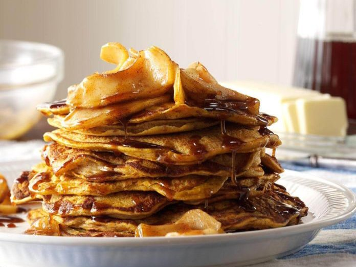 pumpkin pancakes | pancake recipes