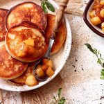 This Apple-Cinnamon Pancake Recipe Is Perfect for Sunday Mornings