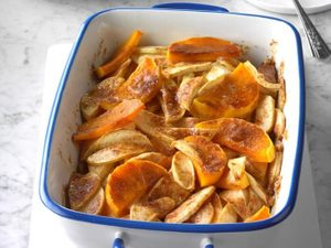Sweeten Up Thanksgiving With Butternut Squash & Apple Bake
