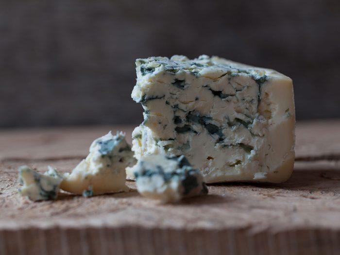 Atkins diet - blue cheese