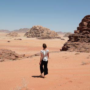 Millie - women walking in Jordan