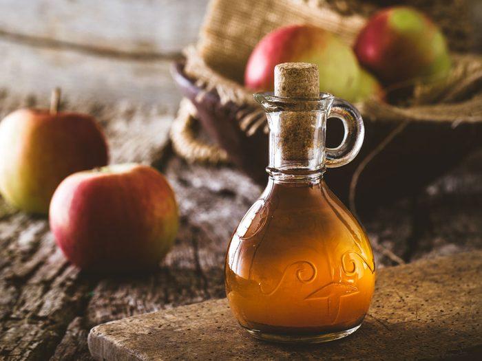 natural appetite suppressants - apple cider vinegar