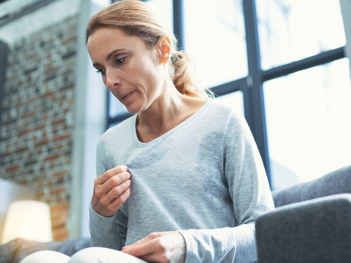 genetics - woman menopause