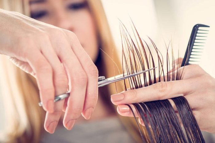 cause of split ends