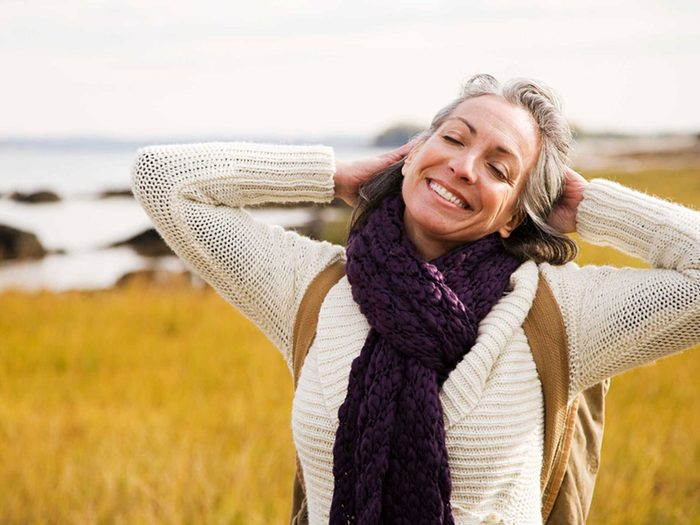 genetics - woman smiling