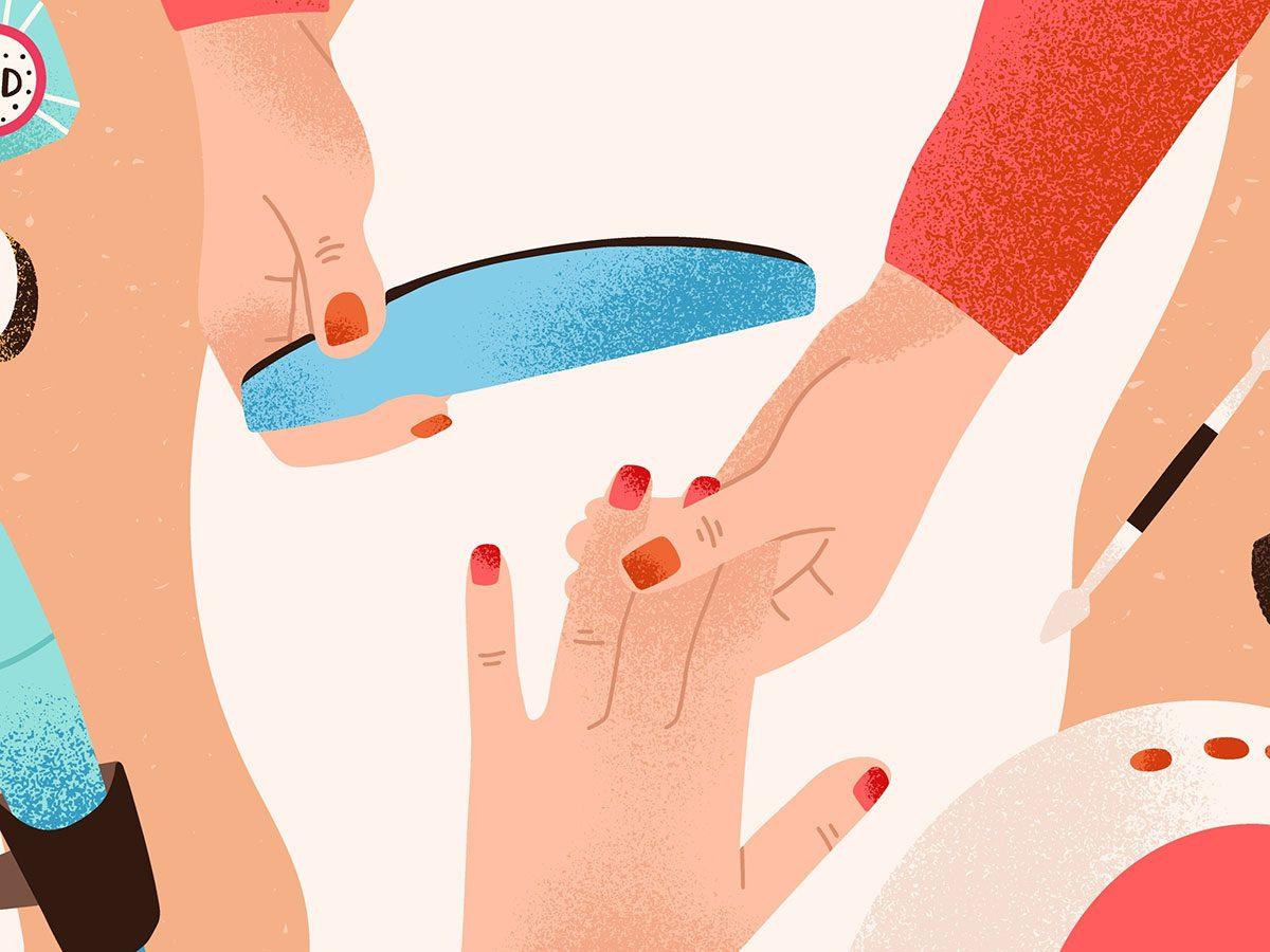 is a gel manicure safe removing gel mani
