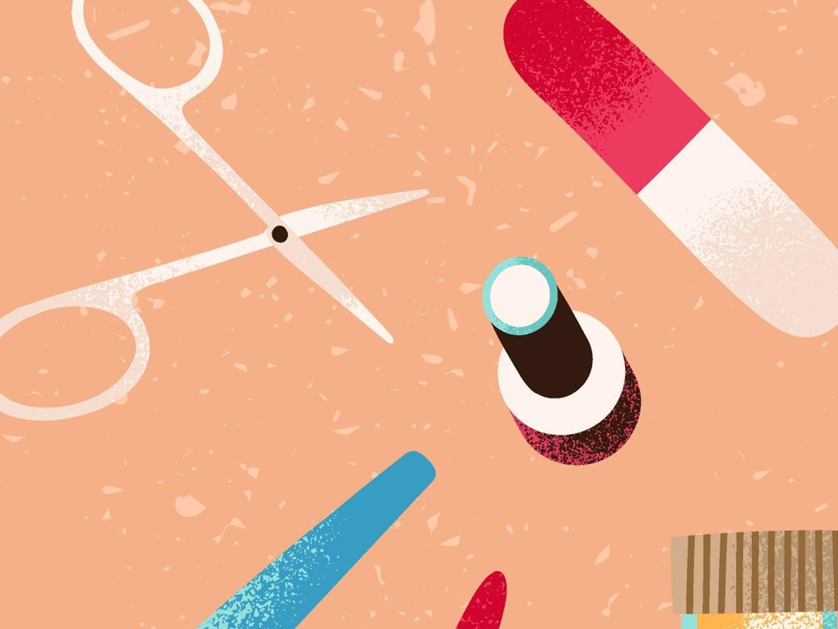 is a gel manicure safe damaged nails