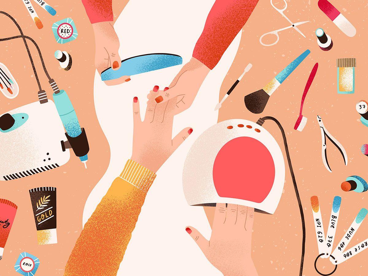 is a gel manicure safe