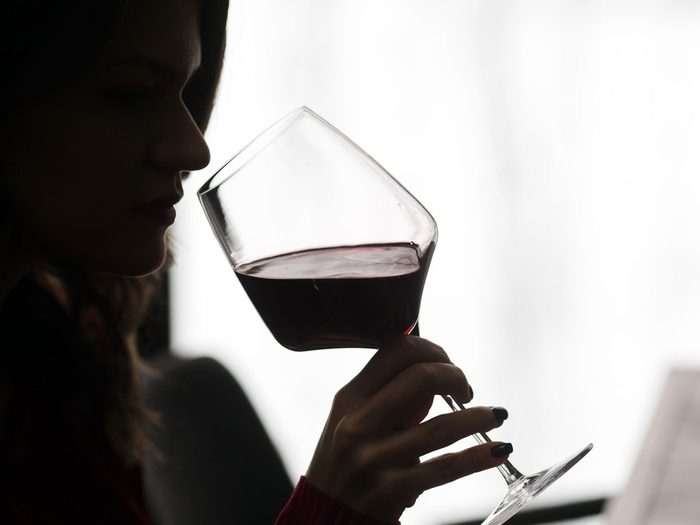 alcohol flush reaction - wine