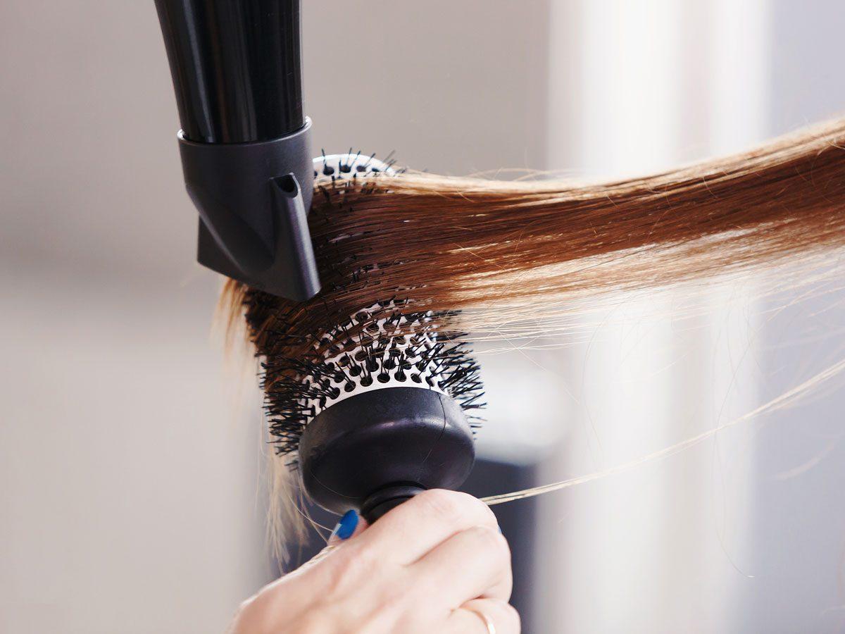 scalp psoriasis - drying hair