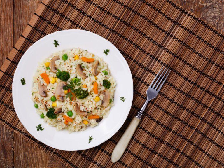 Healthy Weeknight Dinner Recipe | Mushroom Quinoa Risotto
