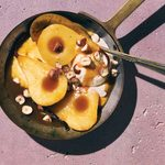 These High-Protein Caramelized Pears Are Delicious Served With Vanilla Ice Cream