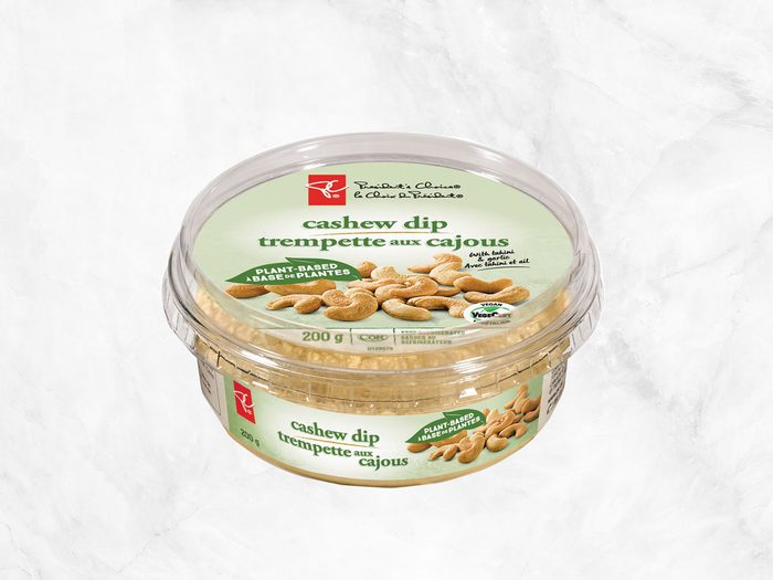 president's choice plant-based staples cashew dip
