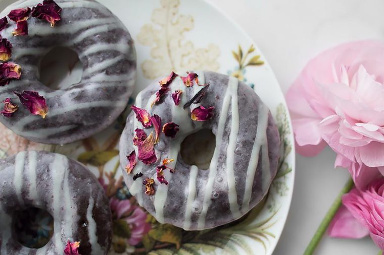 Healthy Chocolate Recipes | Chocolate Strawberry Glazed Doughnuts | Strawberry recipes