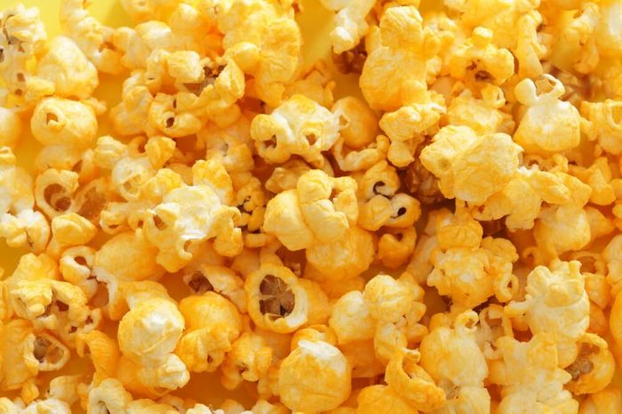 Cheddar cheese pop corn