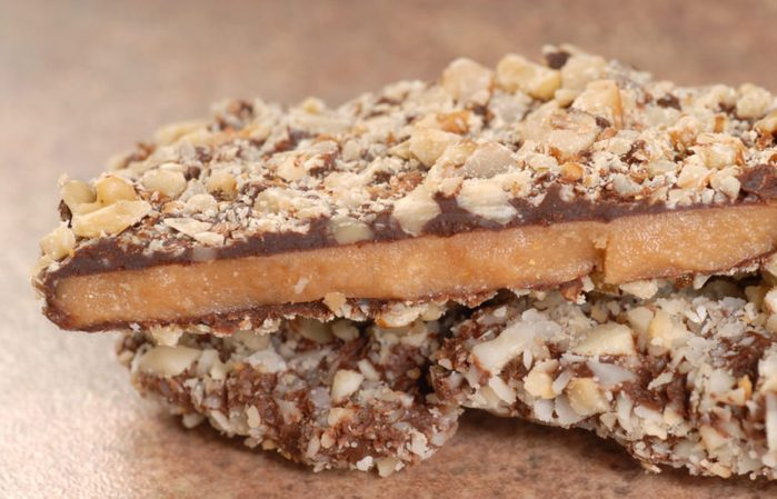 Healthy Chocolate Recipes   Chocolate Toffee