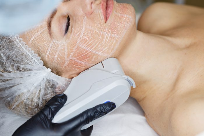 Anti-Aging Treatments   Non-surgical face lifting. SMAS lifting ultrasonic. Facelift. The process of rejuvenation. Spa treatment. Hardware cosmetology.