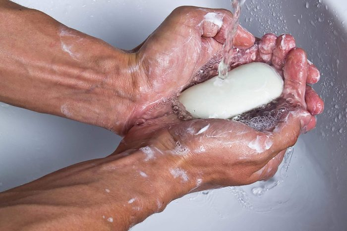 handwashing mistakes