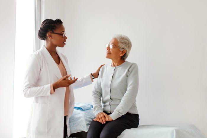 Gluten-free Diet   Celiac Disease   Gluten sensitivity   Gluten Intolerance   Doctor and patient talking about diagnosis