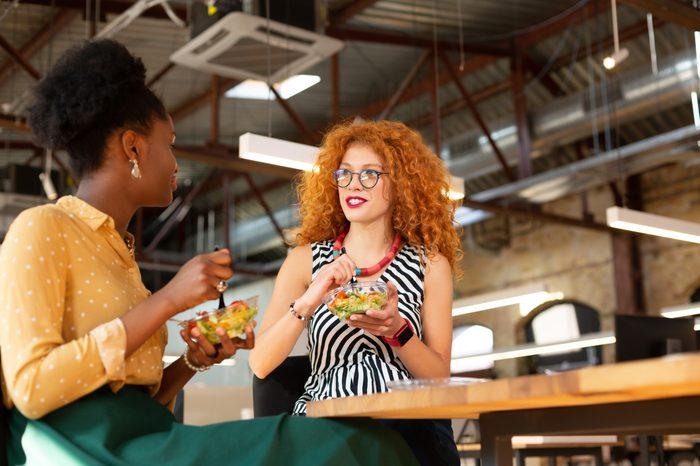 Gluten-free Diet   Celiac Disease   Gluten sensitivity   Gluten Intolerance   Two women enjoying lunch together