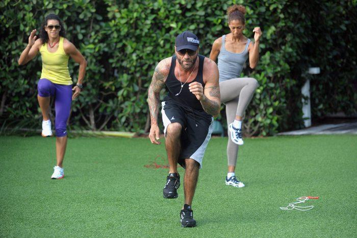 Sweaty Beach Boot Camp And Beach Yoga At W South Beach Hotel & Residences