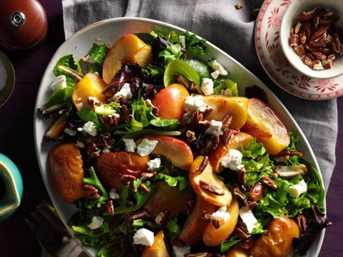 Apple Salad with kaniwa