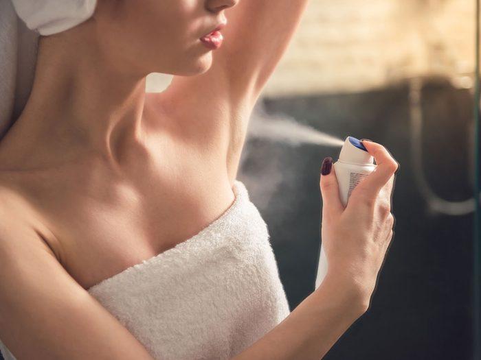 body does overnight | deodorant