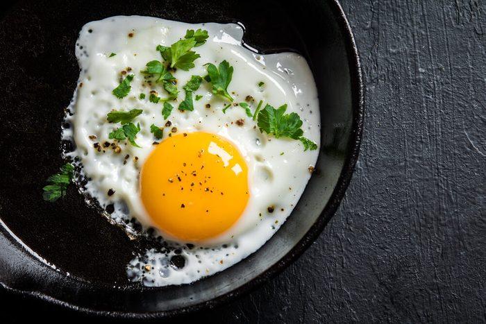 egg in skillet