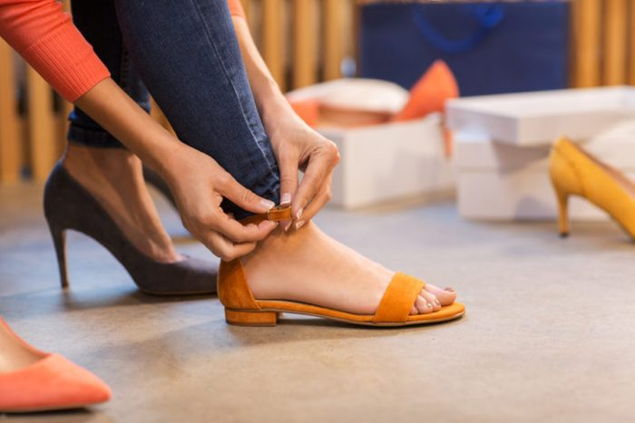how to avoid foot pain