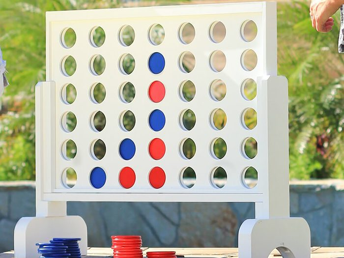 outdoor games and activities | connect four
