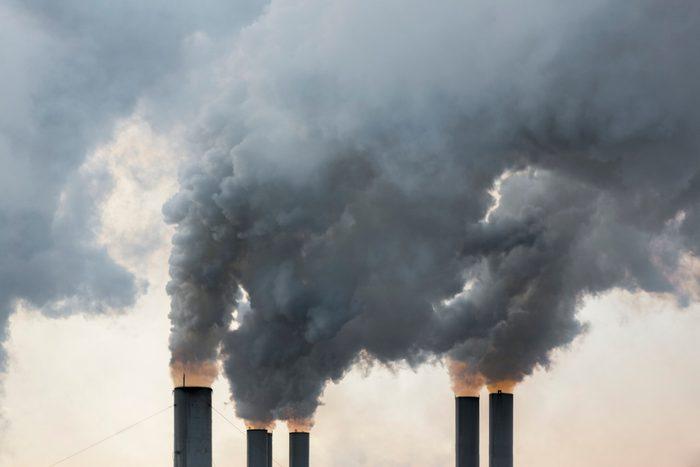 2020 | Smoke emerging from chimneys